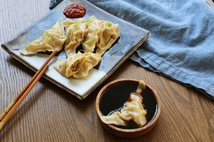 Pork and Cabbage Pot Stickers