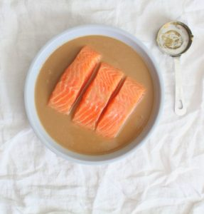 miso marinade with salmon