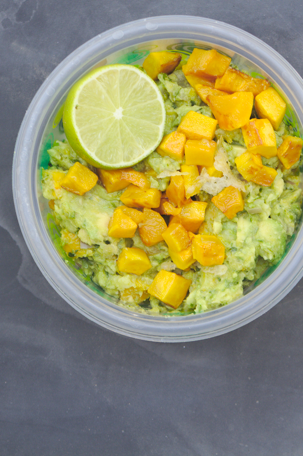 Calabacitas Guacamole with Squash and Queso