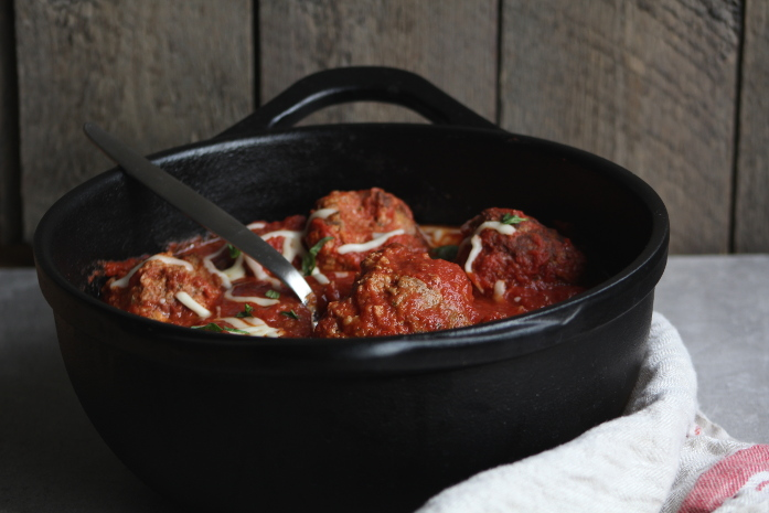 Dutch Oven Meatballs | The Frayed Apron