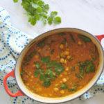 Rustic Chickpea Tomato Soup