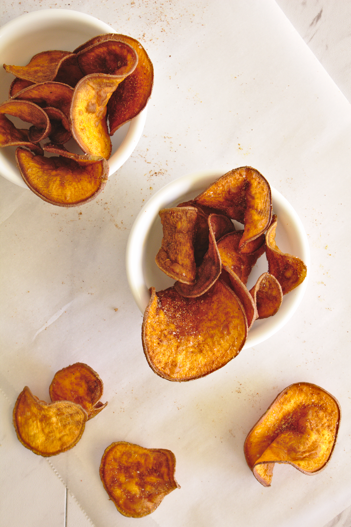 Sweet Potato Barbecue Chips