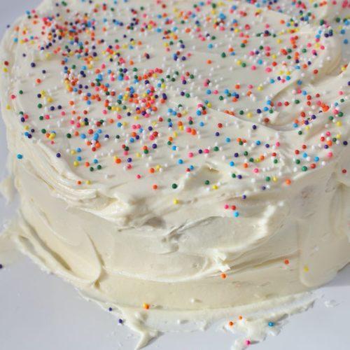 Awesome Moist Gluten Free Butter Cake Personalised Birthday Cards Veneteletsinfo