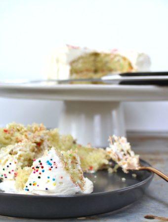 moist gluten free butter cake