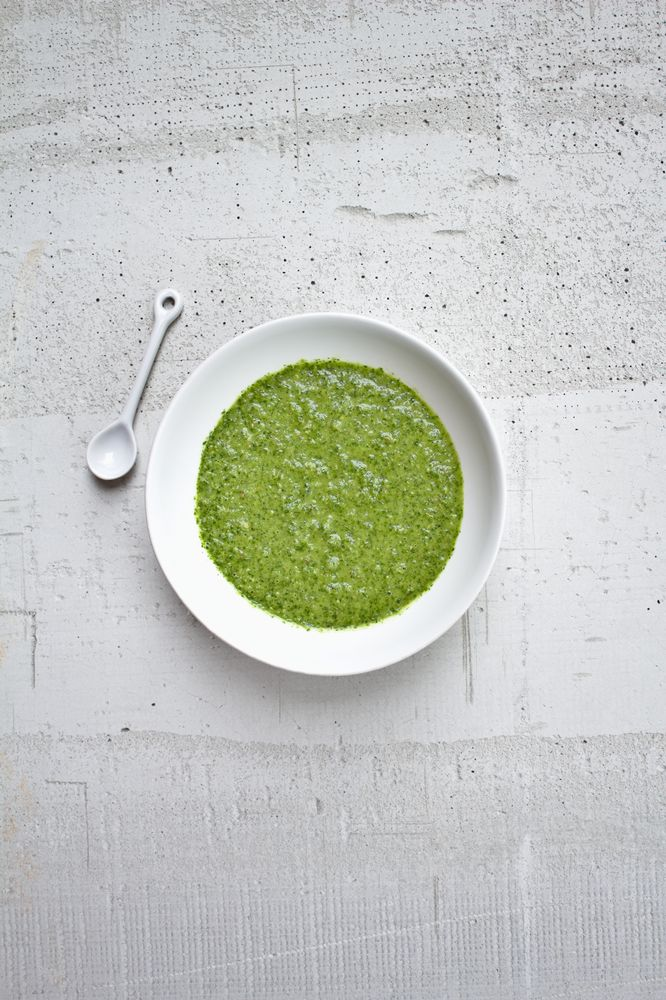 yemenite spiced green sauce, called zhug