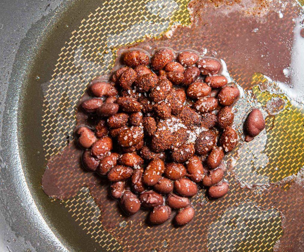 chipotle seasoned black beans