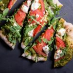 grilled summer flatbread pizza