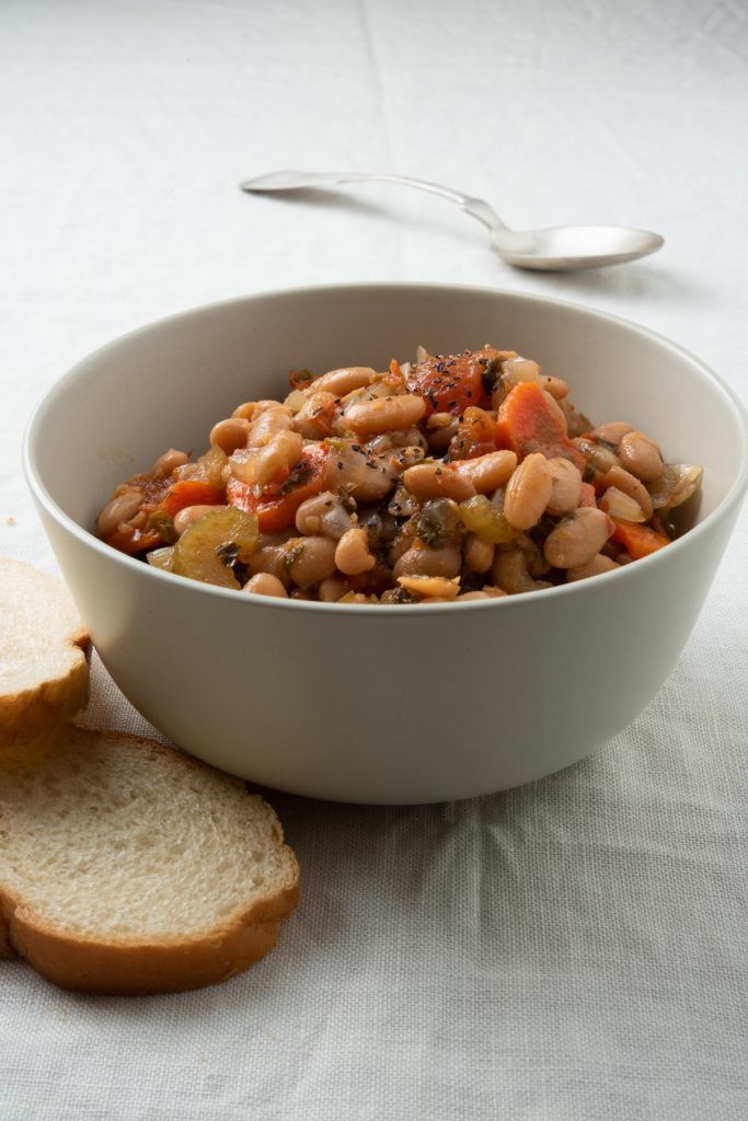 great white norther beans in a bowl