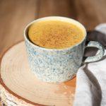 pumpkin maca latte