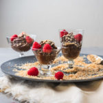 avocado carob mousse (dairy free pudding)