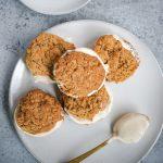 fluffernutter peanut butter oatmeal cream pie cookies