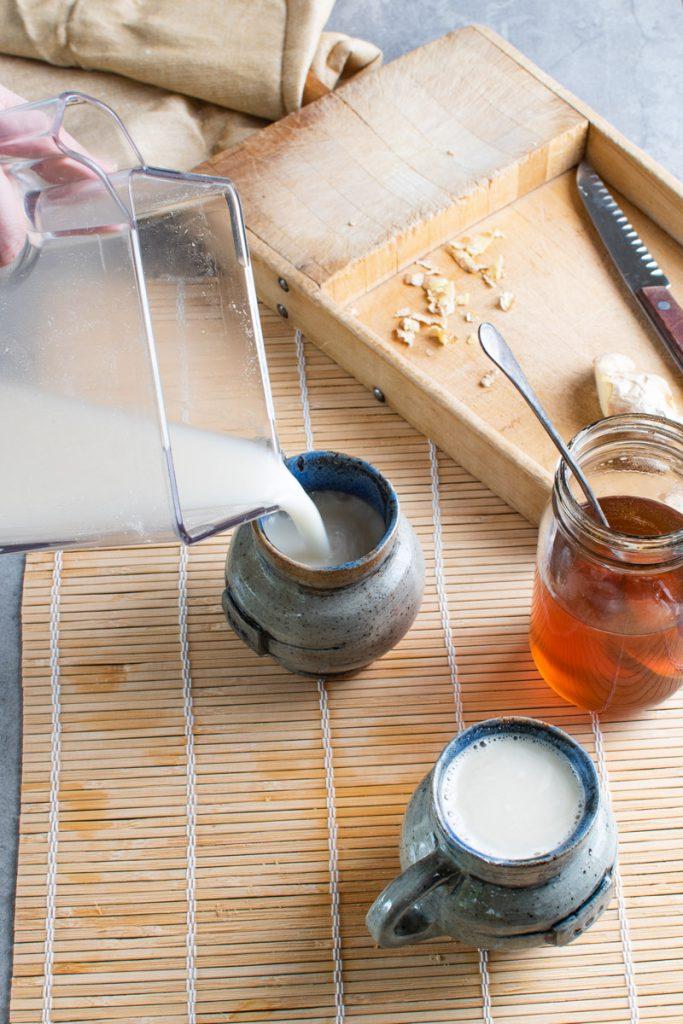 ginger drink tea