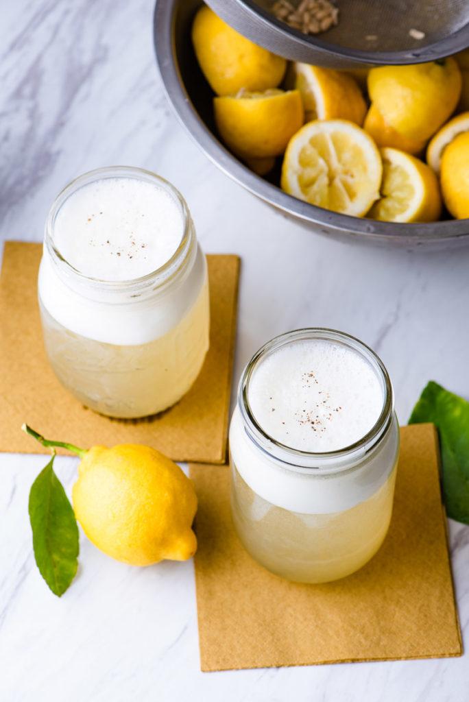sparkling lemon sodas