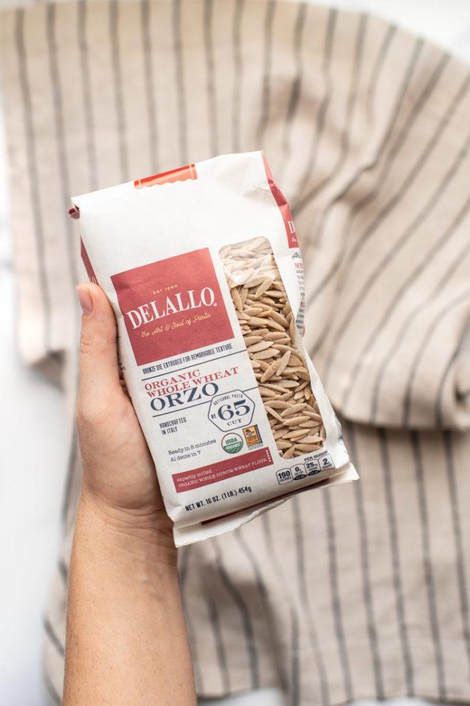 whole wheat orzo pasta