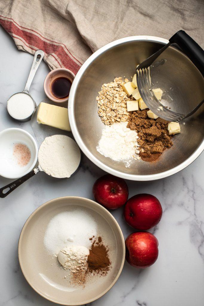 apple pie bar ingredients