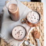 chocolate coconut ice milk