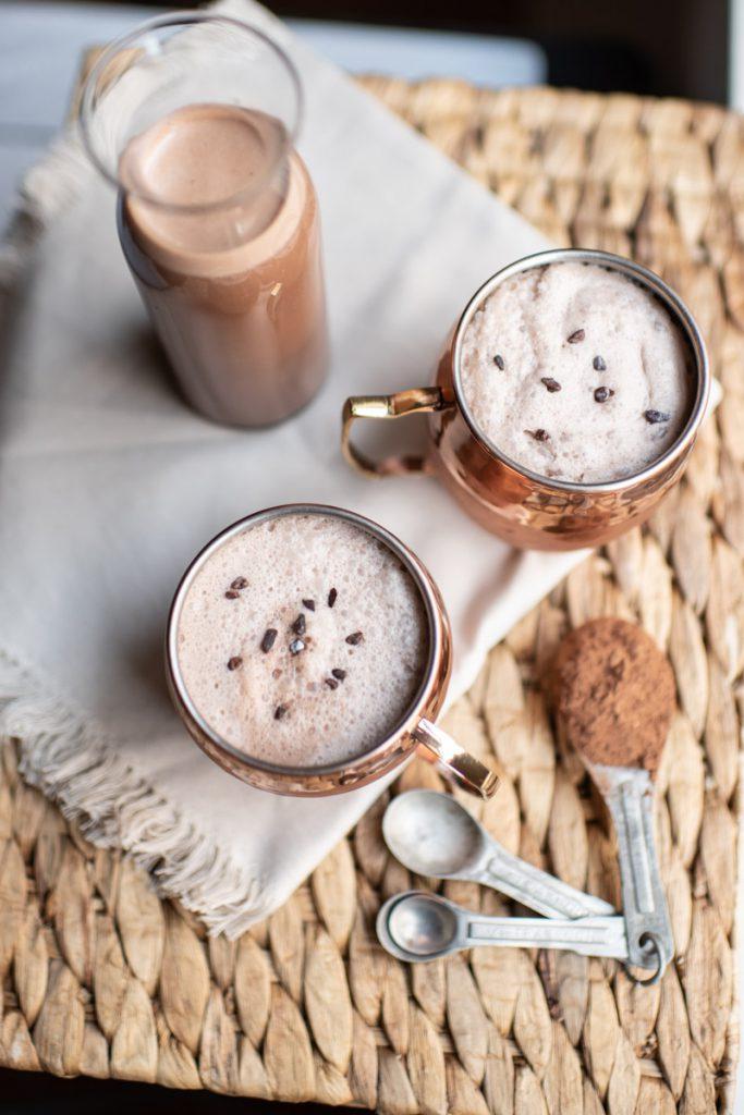 Chocolate ice milk